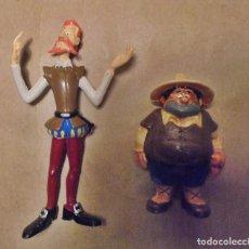 Figuras de Goma y PVC: FIGURAS PVC DON QUIJOTE DE LA MANCHA Y SANCHO PANZA - COMICS SPAIN - ROMAGOSA - 1987. Lote 192842355