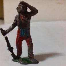 Figuras de Goma y PVC: FIGURA INDIO TEIXIDO. Lote 192903523