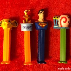 Dispensador Pez: LOTE 4 DISPENSADORES PEZ. Lote 192912450