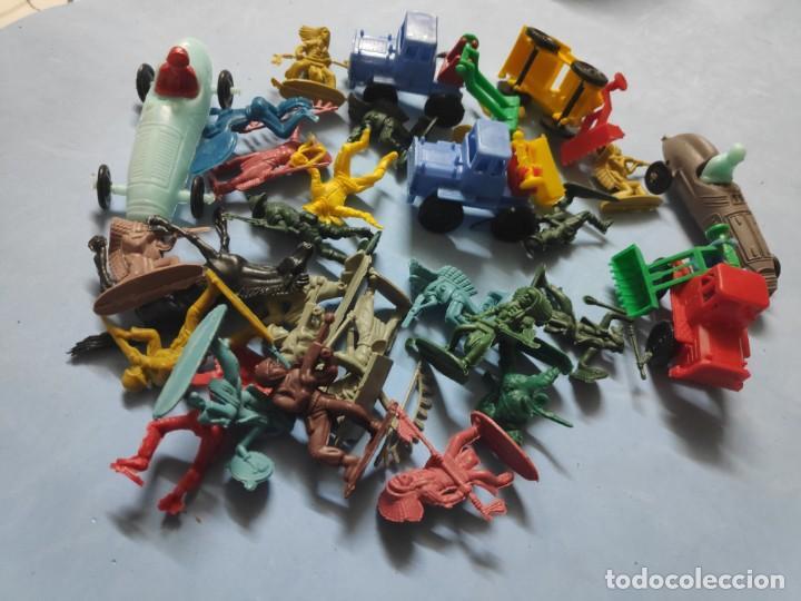 LOTE VARIADO DE JUGUETES DE KIOSKO (Juguetes - Figuras de Goma y Pvc - Otras)