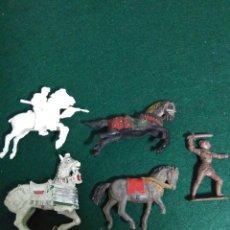 Figuras de Goma y PVC: FIGURAS REAMSA ,GOMA PVC MEDIEVALES ANTIGUAS. Lote 192981243
