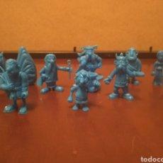 Figurines en Caoutchouc et PVC: MUÑECOS, ASTÉRIX Y OBÉLIX. Lote 193023257