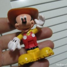 Figuras de Goma y PVC: MICKEY VAQUERO - FIGURA PVC - MARCA: DISNEY MATTEL 2012. Lote 193040857