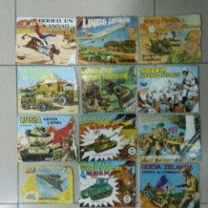 Figuras de Goma y PVC: LOTE DE 14 SOBRES VACÍOS MONTAPLEX HOBBY-PLAST. Lote 193049250