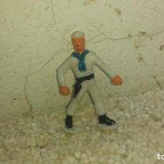 Figuras de Goma y PVC: STEVE MCQUEEN EN EL YANSE EN LLAMAS. Lote 193072701
