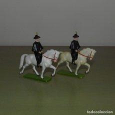 Figuras de Goma y PVC: DÚO DE ALGUACILES A CABALLO. TAUROMAQUIA. . Lote 193117463