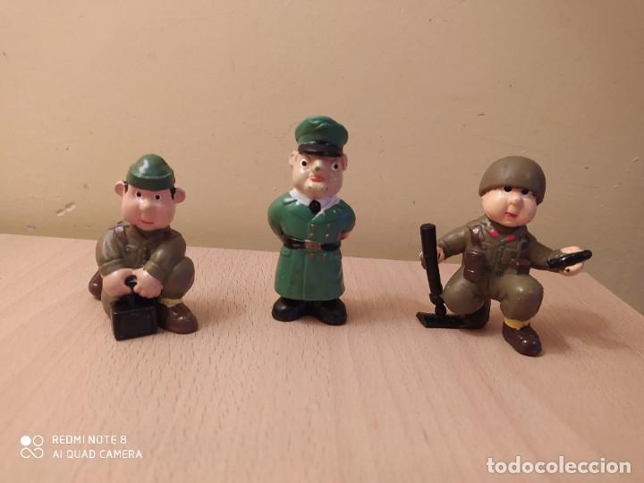 LOTE 3 SOLDADOS DEL MUNDO WONILANDIA ALEMANES MADE IN SPAIN PVC AÑOS 80 SEGUNDA GUERRA MUNDIAL (Juguetes - Figuras de Goma y Pvc - Otras)