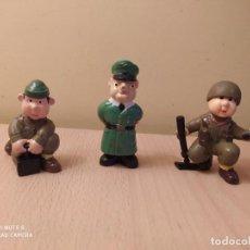 Figuras de Goma y PVC: LOTE 3 SOLDADOS DEL MUNDO WONILANDIA ALEMANES MADE IN SPAIN PVC AÑOS 80 SEGUNDA GUERRA MUNDIAL. Lote 162208834