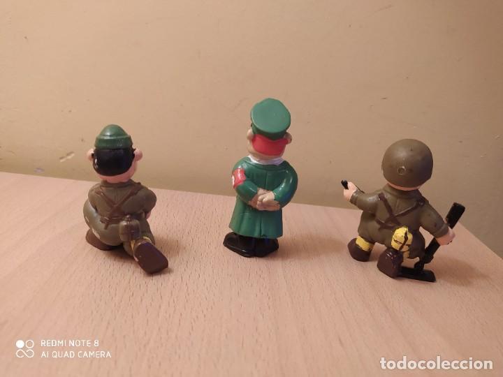 Figuras de Goma y PVC: Lote 3 SOLDADOS DEL MUNDO WONILANDIA Alemanes MADE IN SPAIN PVC Años 80 Segunda guerra mundial - Foto 2 - 162208834