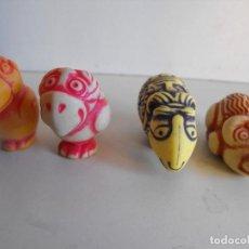 Figuras Kinder: LOTE DE 4 FIGURAS KINDER. DOBLE CARA. K99, K00 Y K95.. Lote 193233322