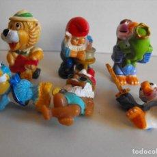 Figuras Kinder: LOTE DE 6 FIGURAS FERRERO KINDER. . Lote 193233681