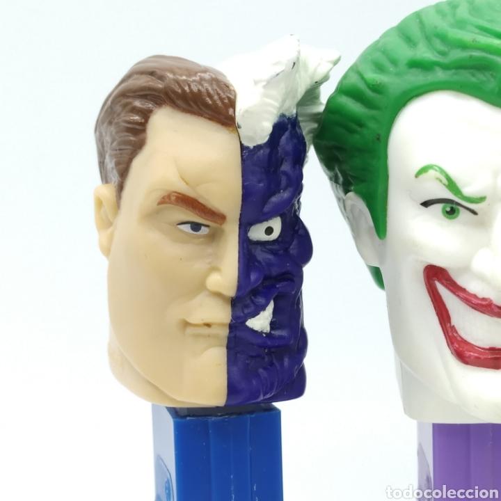 Dispensador Pez: Dispensadores PEZ, serie completa BATMAN DC Comics año 2008 - Foto 2 - 193267930