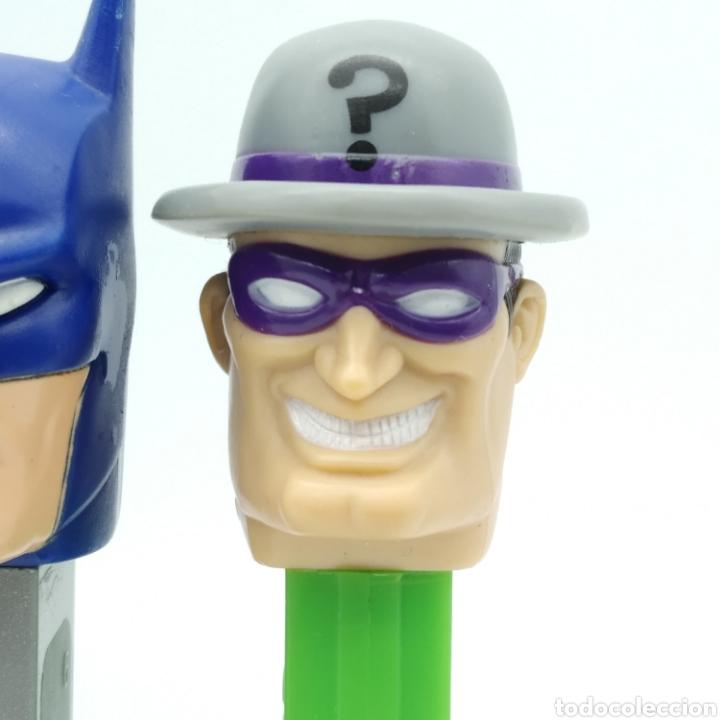 Dispensador Pez: Dispensadores PEZ, serie completa BATMAN DC Comics año 2008 - Foto 5 - 193267930