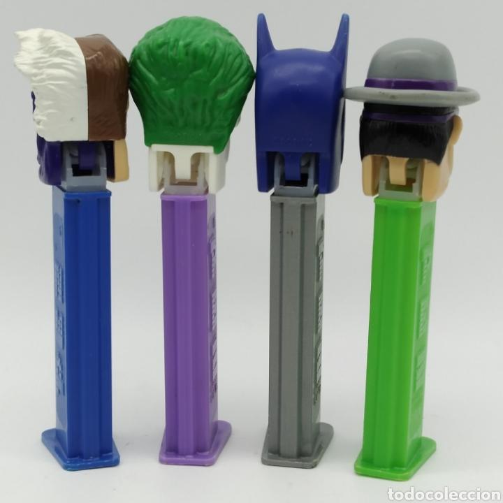 Dispensador Pez: Dispensadores PEZ, serie completa BATMAN DC Comics año 2008 - Foto 6 - 193267930