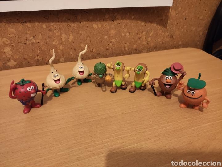 LOTE FIGURAS PVC LOS FRUITTIS - COMICS SPAIN D'OCON FILMS - SERIE DIBUJOS ANIMADOS FRUITIS GOMA (Juguetes - Figuras de Goma y Pvc - Comics Spain)
