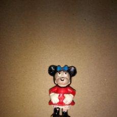 Figuras de Goma y PVC: PECH HERMANOS : FIGURA MINNIE , NOVIA DE MICKEY SERIE WALT DISNEY EN GOMA AÑOS 50 . Lote 193277426