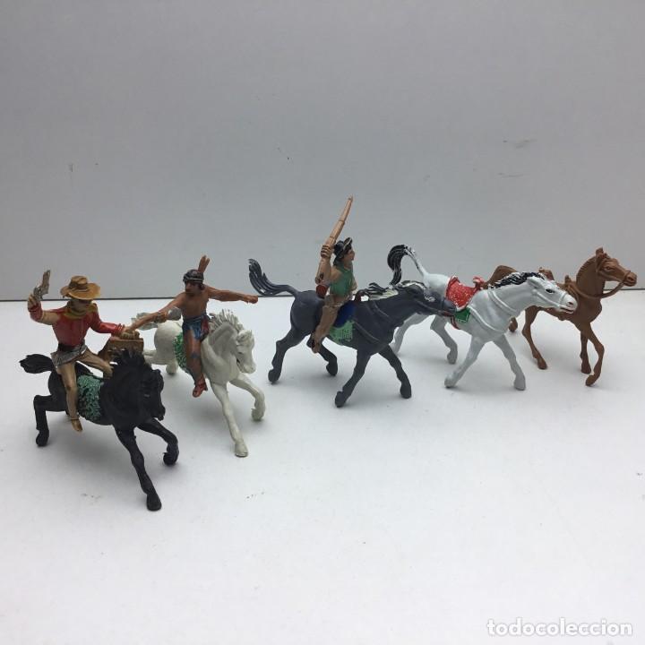 ANTIGUOS VAQUEROS DEL OESTE - PECH, JECSAN, REAMSA, TEIXIDO, OLIVER, COMANSI (Juguetes - Figuras de Goma y Pvc - Otras)