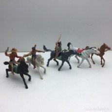 Figuras de Goma y PVC: ANTIGUOS VAQUEROS DEL OESTE - PECH, JECSAN, REAMSA, TEIXIDO, OLIVER, COMANSI. Lote 193298271