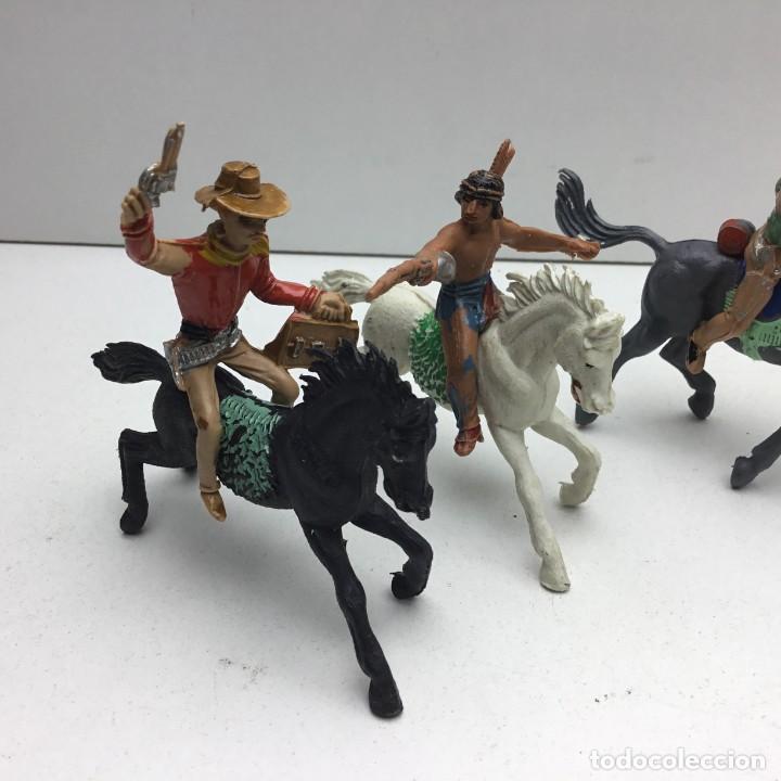 Figuras de Goma y PVC: ANTIGUOS VAQUEROS DEL OESTE - PECH, JECSAN, REAMSA, TEIXIDO, OLIVER, COMANSI - Foto 2 - 193298271