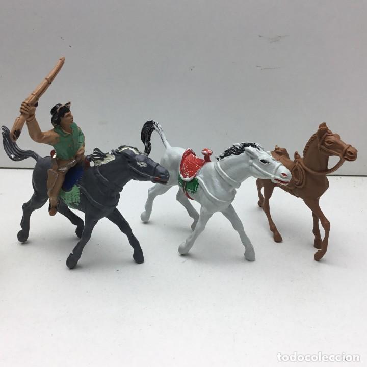Figuras de Goma y PVC: ANTIGUOS VAQUEROS DEL OESTE - PECH, JECSAN, REAMSA, TEIXIDO, OLIVER, COMANSI - Foto 3 - 193298271