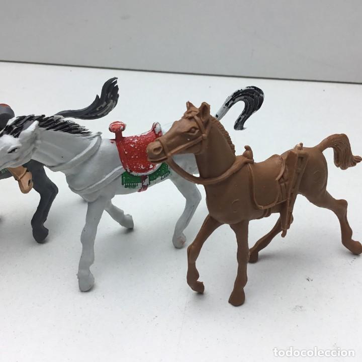 Figuras de Goma y PVC: ANTIGUOS VAQUEROS DEL OESTE - PECH, JECSAN, REAMSA, TEIXIDO, OLIVER, COMANSI - Foto 6 - 193298271