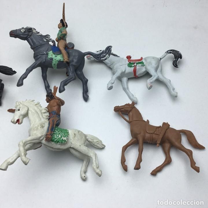 Figuras de Goma y PVC: ANTIGUOS VAQUEROS DEL OESTE - PECH, JECSAN, REAMSA, TEIXIDO, OLIVER, COMANSI - Foto 7 - 193298271