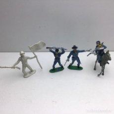 Figuras de Goma y PVC: 4 FIGURAS - PECH, JECSAN, REAMSA, TEIXIDO, OLIVER, COMANSI - AÑOS 70. Lote 193298721