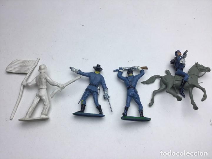 Figuras de Goma y PVC: 4 FIGURAS - PECH, JECSAN, REAMSA, TEIXIDO, OLIVER, COMANSI - AÑOS 70 - Foto 6 - 193298721