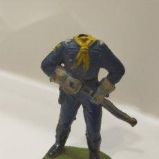 Figuras de Goma y PVC: JECSAN DESCABEZADOS YANKEE. Lote 193321915
