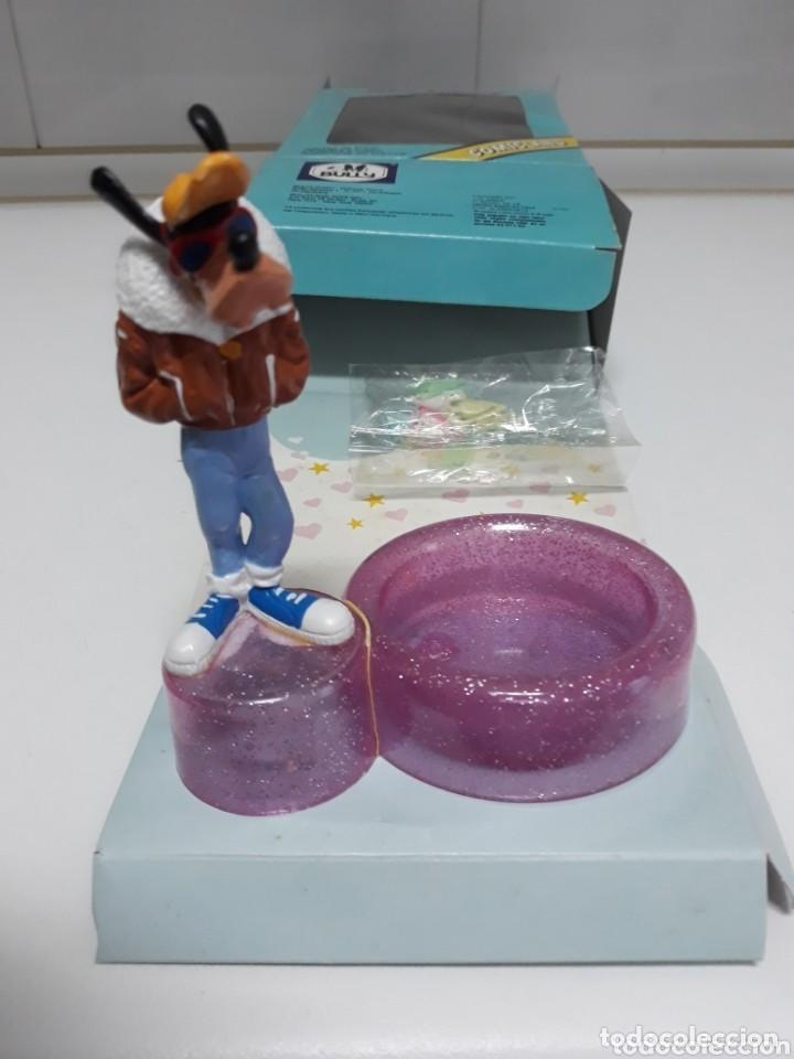 Figuras de Goma y PVC: Caja con figura goofy de comicland bullyland ref.17.500 porta clips sin usar - Foto 2 - 193330687