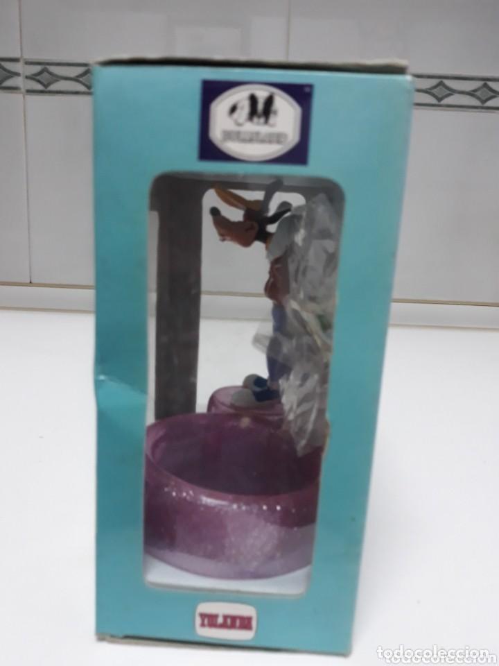Figuras de Goma y PVC: Caja con figura goofy de comicland bullyland ref.17.500 porta clips sin usar - Foto 4 - 193330687
