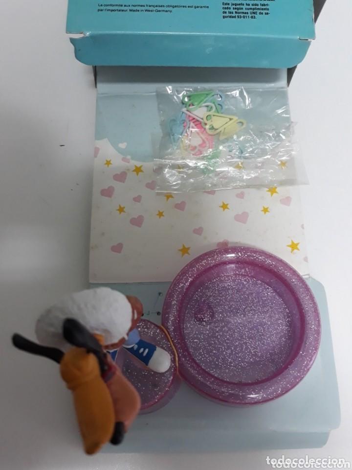 Figuras de Goma y PVC: Caja con figura goofy de comicland bullyland ref.17.500 porta clips sin usar - Foto 5 - 193330687