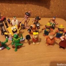Figuras de Goma y PVC: LOTE FIGURITAS PVC GOMA CASI TODOS SON COMICS SPAIN . VER FOTOS. Lote 193361140