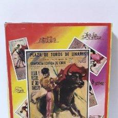 Figuras de Goma y PVC: CAJA DE LA CORRIDA DE TOROS - SIN CONTENIDO . REALIZADA POR PECH . AÑOS 60. Lote 193614456