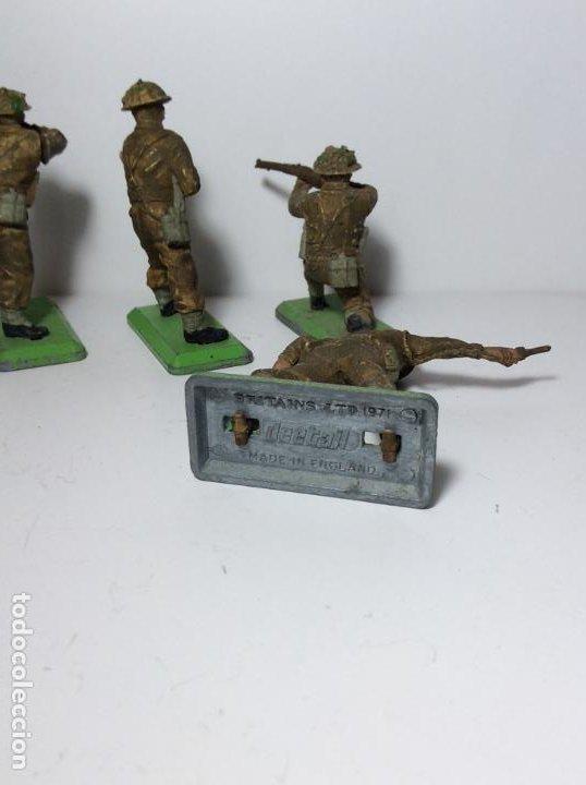 Figuras de Goma y PVC: LOTE 5 FIGURAS SOLDADOS INGLESES 2ª GUERRA MUNDIAL BRITAINS 1971 19 - Foto 3 - 193700188