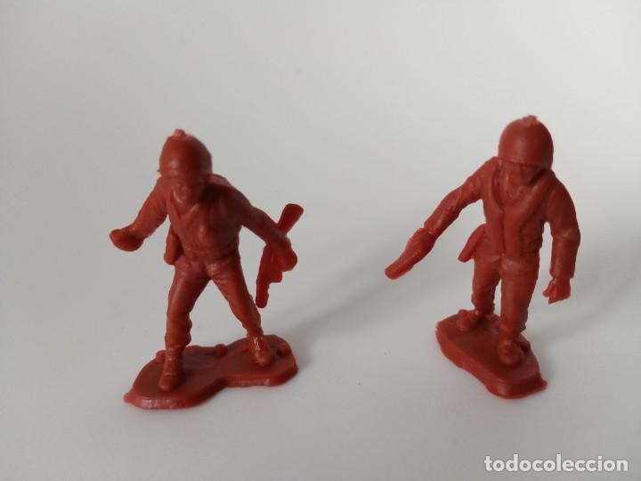 FIGURAS SOLDADOS (Juguetes - Figuras de Goma y Pvc - Pipero)