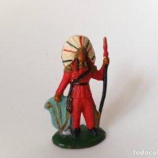 Figuras de Goma y PVC: FIGURA INDIO AÑOS 50. Lote 193719400