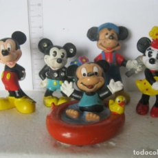 Figuras de Goma y PVC: BULLYLAND LOTE DE 5 MICKEY MOUSE USADOS LOS DE LAS FOTOS VER FOTOS ADICIONALES. Lote 193726467