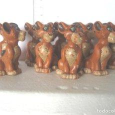 Figuras de Goma y PVC: BULLYLAND LOTE DE 6 LEONES USADOS LOS DE LAS FOTOS VER FOTOS ADICIONALES. Lote 193726673