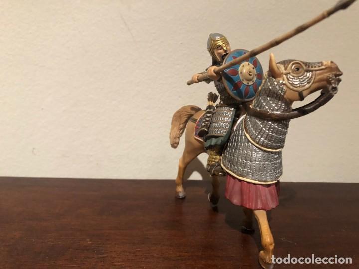 GUERRERO MONGOL SCLEICH. NÓMADAS ESTEPAS. KHAN (Juguetes - Figuras de Goma y Pvc - Schleich)