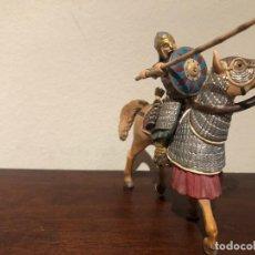 Figuras de Goma y PVC: GUERRERO MONGOL SCLEICH. NÓMADAS ESTEPAS. KHAN. Lote 193832047