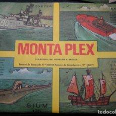 Figuras de Goma y PVC: SOBRE MONTAPLEX. Lote 193838492