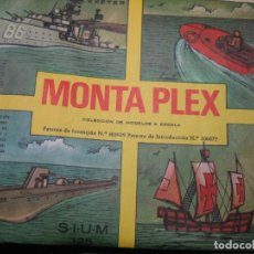 Figuras de Goma y PVC: SOBRE MONTAPLEX. Lote 193838537