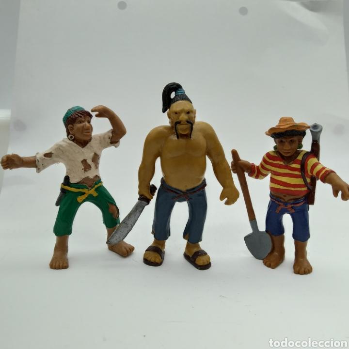 PIRATAS DE BULLYLAND (Juguetes - Figuras de Goma y Pvc - Bully)
