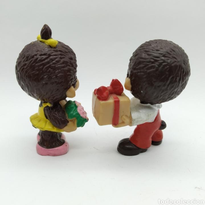 Figuras de Goma y PVC: Pareja de MONCHICHI de BULLYLAND MONCHHICHI - Foto 2 - 193858572