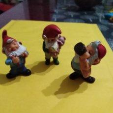 Figuras Kinder: LOTE DE 3 FIGURAS HUEVOS KINDER AÑOS 80/90. Lote 193861807