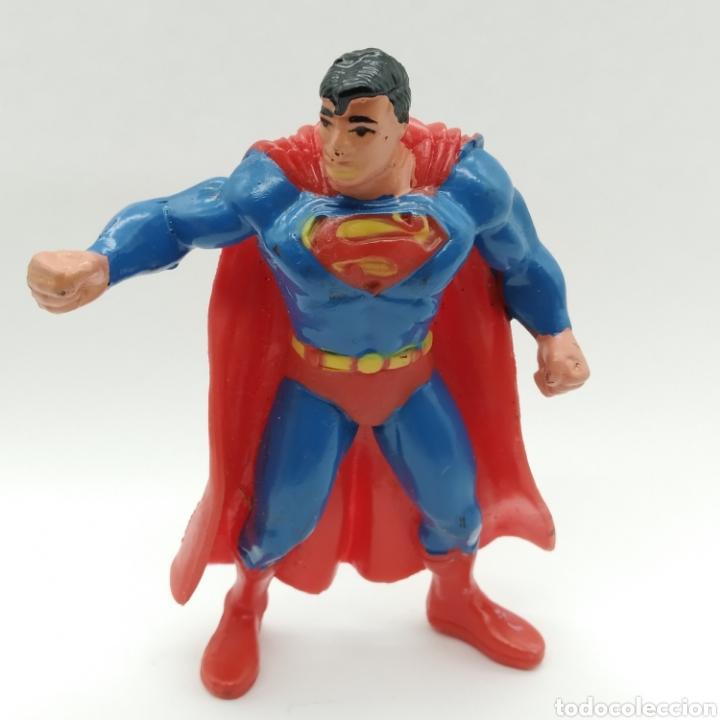 SUPERMAN DE COMICS SPAIN AÑO 1992 (Juguetes - Figuras de Goma y Pvc - Comics Spain)
