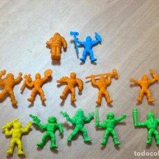 Figuras de Goma y PVC: LOTE 12 FIGURITAS DE PLÁSTICO PREMIUM HE- MAN HEMAN AÑOS 80, PHOSKITOS, 100 % ESPAÑOLAS MOTU. Lote 193948407
