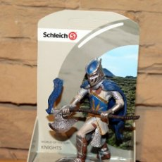 Figuras de Goma y PVC: SCHLEICH - WORLD OF HISTORY: KNIGHTS - CABALLERO MEDIEVAL HACHA - NUEVO A ESTRENAR - REF 70112. Lote 193967142