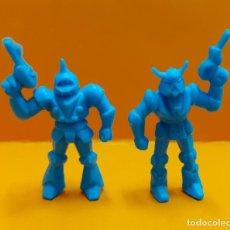 Figuras de Goma y PVC: LOTE 2 FIGURAS PVC DUNKIN ROBOTS. Lote 194005680